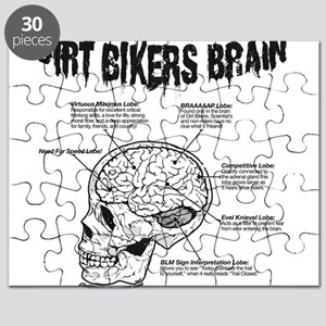Dirt Bikers Brain Puzzle